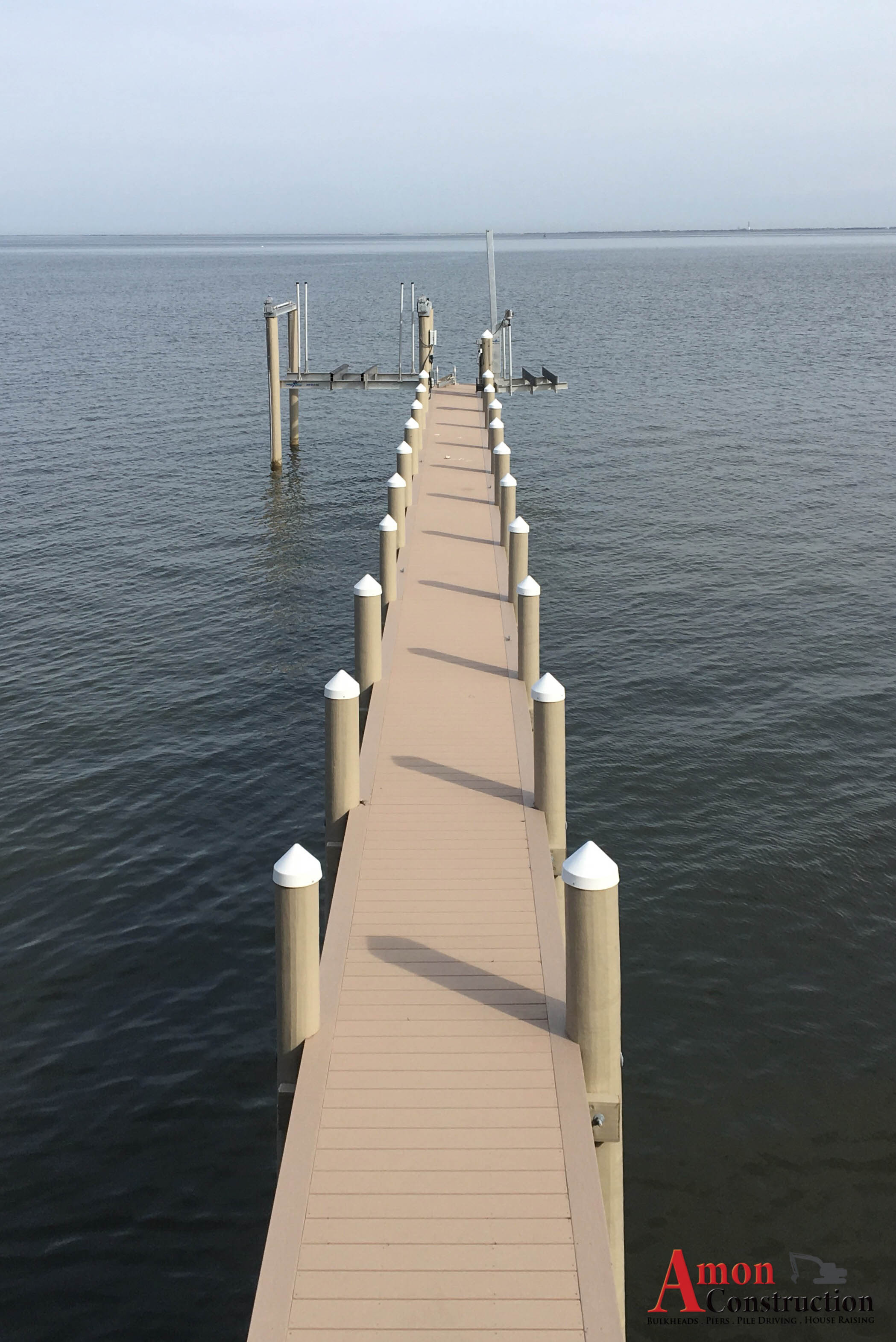 Bulkheads, Docking Systems & Piers - Amon Construction